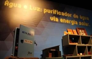 Protótipo do Água Box é destaque no estande do Inpa na SBPC Fernanda Farias (Imagem: Ascom Inpa / Divulgação)