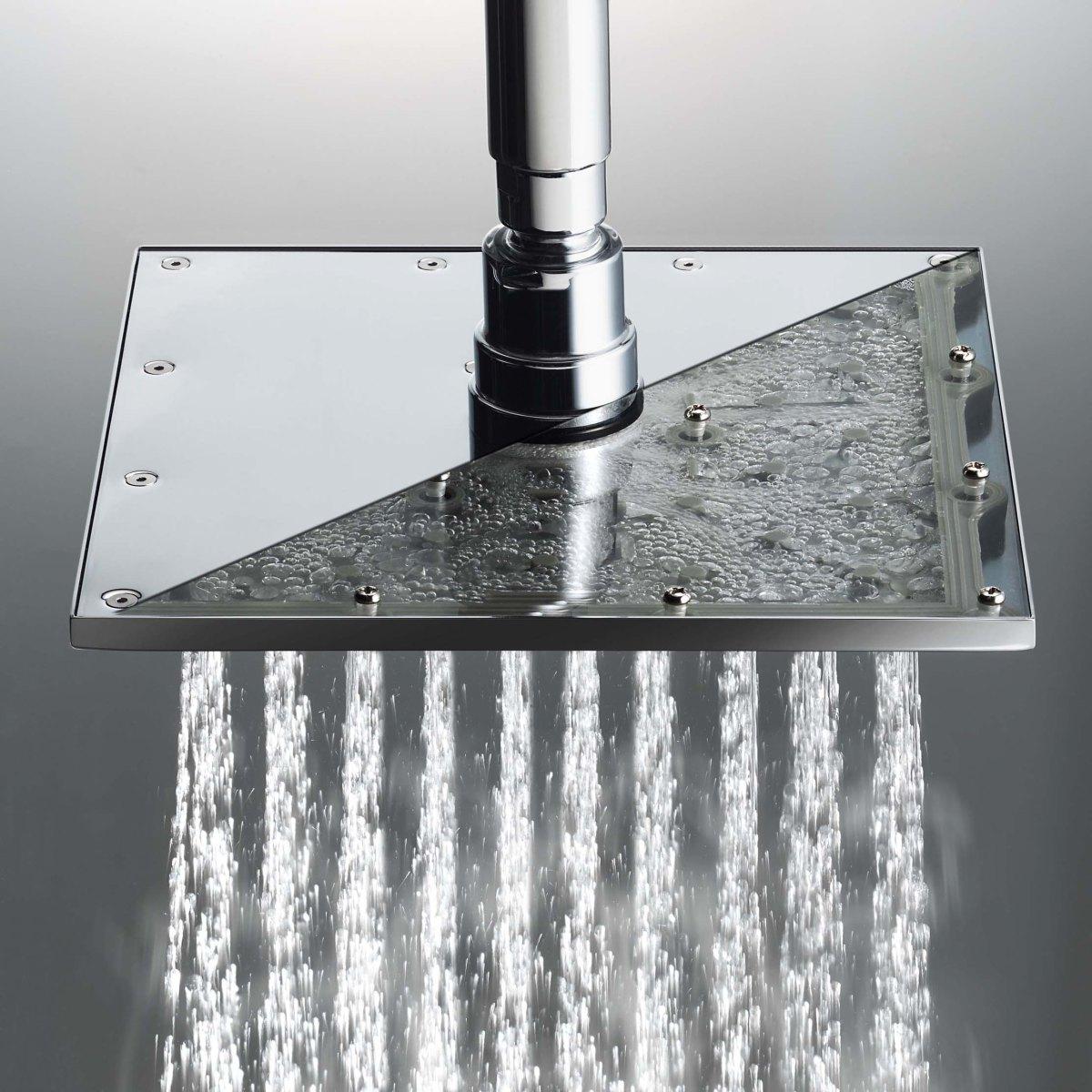 Lorenzetti destaca linha de duchas que economizam água