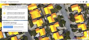 Project Sunroof pode calcular quanto de energia você vai economizar se instalar um painel solar (Foto: Techtudo/reprodução)