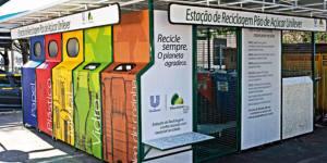 Seu lixo é bem-vindo: a rede varejista criou dezenas de postos de coleta para incentivar a reciclagem no consumidor ( foto: MARIO CASTELLO/reprodução)