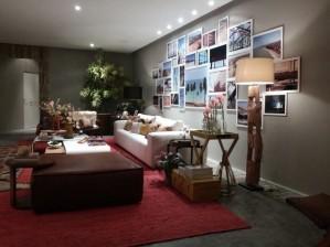 Segunda edição da Casa Cor Alagoas traz 34 ambientes (Foto: Lucas Leite/G1)