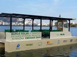 Aurora da Amazônia é movido a energia solar. (Foto: Divulgação)