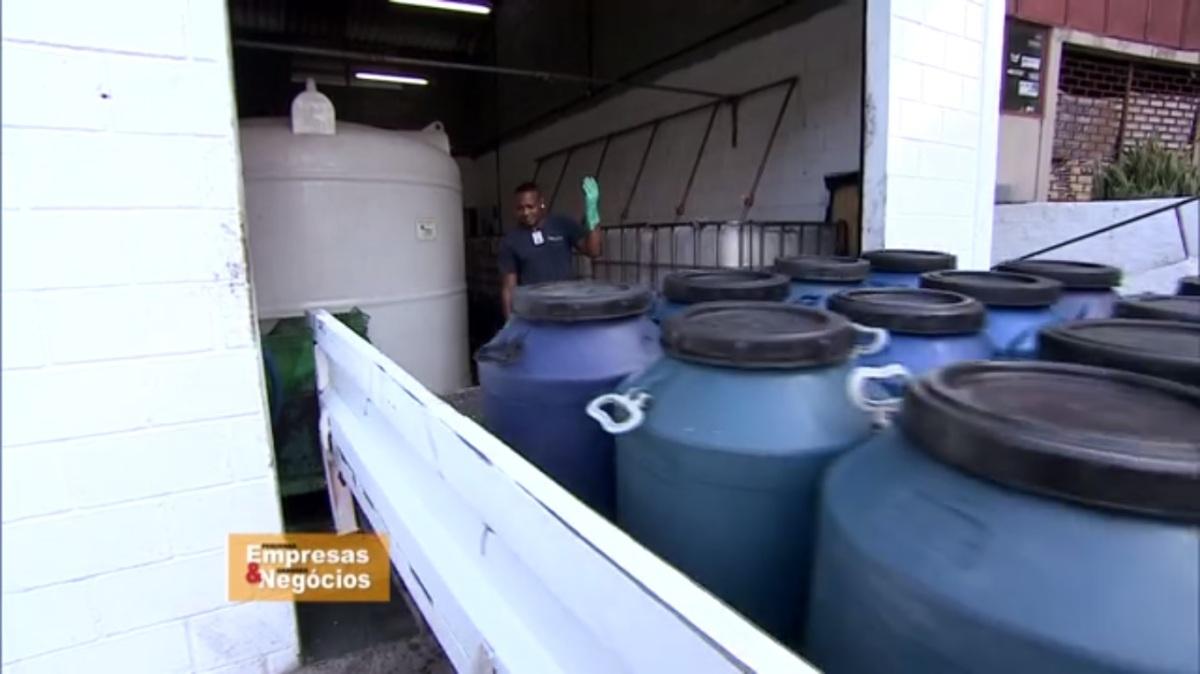 Com um investimento de R$ 50 mil, empresa recicla óleo de fritura