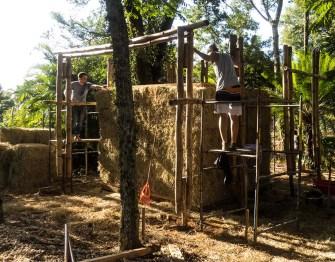 Feira da Sustentabilidade terá estrutura construída com bambu e fardos de feno