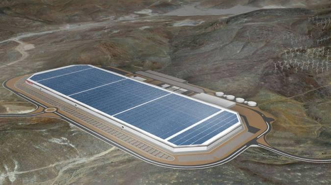 Gigafábrica - localizada em Nevada, EUA, fábrica deve ser inaugurada em julho