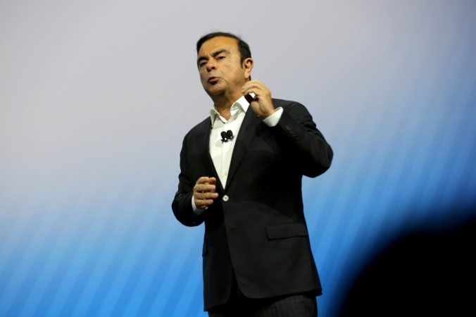 Carlos Ghosn KeyNote at CES